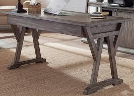 White Oak Furniture Amazon Com Liberty Furniture Stone Brook Computer Desk In Rustic