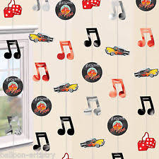 Rock And Roll Party Decorations Music Theme Party Decorations Ebay