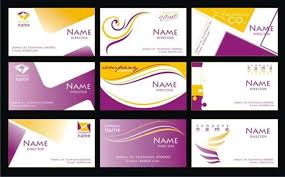 purple business card template free vector 30 340 free