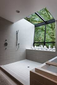Open Shower Bathroom Design 25 Best Open Bathroom Ideas On Pinterest Concrete Shower Open