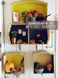 wall shelf designs how to make wall shelves out of old dresser drawers east coast