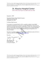 bunch ideas of nursing recommendation letter example for sample