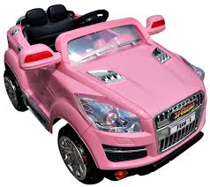 cool car toy review of girls pink crossover jeep 12v suv ride on a cool kids