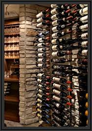 Wine Cellar Shelves - wine cellar design custom wine cellars chicago