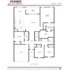 dr horton mckenzie floor plan plan 2593 mckenzie park spring texas d r horton