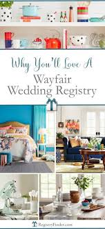 wayfair wedding registry what you really need best gifts to include in your wedding