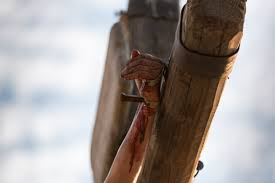 nails in christ u0027s hand and wrist