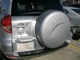 toyota rav4 spare tire open door light comes on back door not fully closing toyota