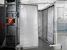 Laser Safety Curtains Modular Shelter With Laser Safety Curtain Shelter Light