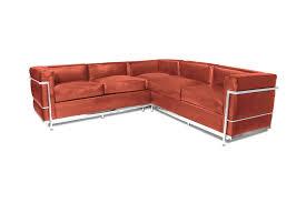 Red Corner Sofa by Charles Le C Lc2 Petit Corner Sofa Italiadesigns