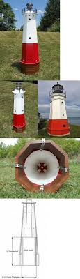other garden d cor 2034 48 solar lighthouse wood wellhead cover