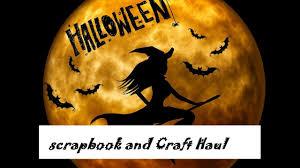 halloween scrapbook papers haul halloween craft supplies and paper from scrapbook com july 26