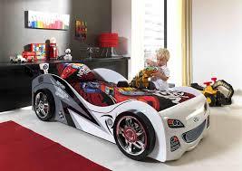 chambre enfant formule 1 lit enfant voiture coloris blanc pole position lit enfant