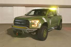 halo 4 warthog ford teamed up with microsoft 343 to build a halo inspired f150