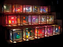 the funky monkey harmony lantern handmade with love