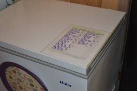 How To Make A Spreadsheet For Inventory Freezer Inventory U2013 Mrs Happy Homemaker