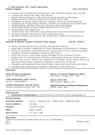 Desktop Support Technician Resume Example by Download Cisco Customer Support Engineer Sample Resume