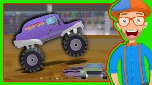 monster truck youtube videos for kids monster trucks for children with blippi the monster truck song