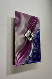 Ribbon Metal Wall Decor Metal Wall Art Sculpture Clock Modern Abstract Painting Decor