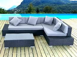 canape tresse exterieur salon de jardin angle luxe canape d angle exterieur resine canape