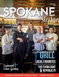 Spirit Halloween Division Spokane Wa by November 2016 Spokane Sizzle Downriver Grill By Living Local 360