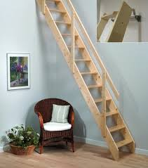 beautiful wooden staircase with slide 7903