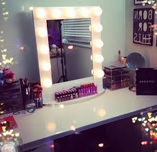 Vanity Makeup Mirrors Makeup Vanity Mirror With Light Bulbs Home Design Ideas For Best
