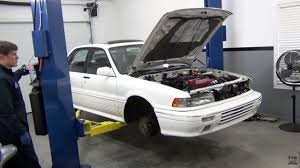 mitsubishi galant 1991 tom u0027s turbo garage mitsubishi galant swap u2013 part 3 u2013 engine swap depot