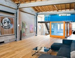shipping container homes shipping containers in loft apartment