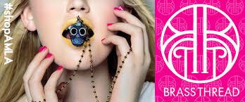 brass thread jewelry designer spotlight amandamills