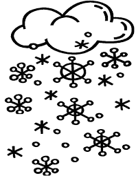 coloring pages snow coloring