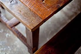 best wood for farmhouse table reclaimed wood farm table from start to finish reclaimed wood