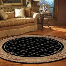 Black Circle Rug Ashton House Circular Rugs By Nourison As03 In Black Free Uk
