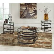 glass end table set coffee table sets cymax stores