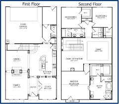 home plans single 2 floor plans alovejourney me