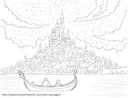 7 images of rapunzel tower coloring page disney tangled pascal