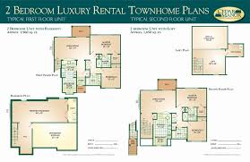 townhome plans executive 2 bedroom house plans luxury 2 bedroom house with basement