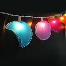 Night Light Kids Room by Gaiashine Nylon Fabric Star Moon String Fairy Night Lights Kid U0027s