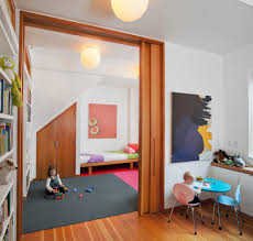 Kids Chat Rooms 10 And Under by Large Door Kids Contemporary With Colorful Accents Wood Molding