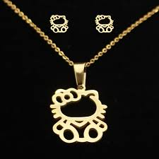 stainless gold necklace images Search on by image jpg