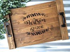 personalized serving platters 50th wedding anniversary gift personalized serving tray engraved