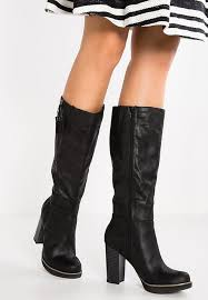 s heeled boots uk s oliver high heeled boots black for q76m9920