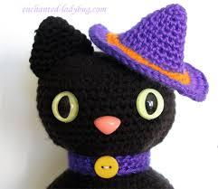 amigurumi witch pattern crochet amigurumi halloween black cat pattern