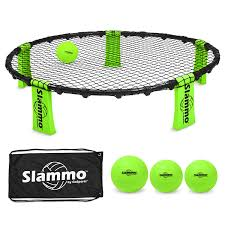 amazon com gosports slammo game set includes 3 balls carrying