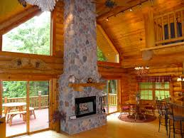paint creek lodge 5 bedroom log cabin with tub jacuzzi iowa