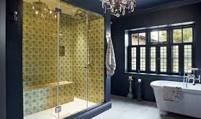 Color Scheme For Bathroom Trendy Twist To A Timeless Color Scheme Bathrooms In Blue And Yellow