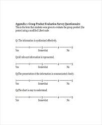38 questionnaire templates examples