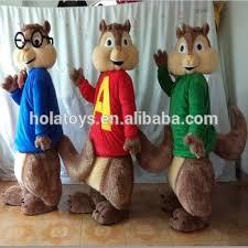 hola alvin chipmunks costume mascots mascot costume