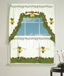 Christmas Kitchen Curtain by Best Linens Inc