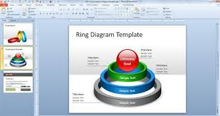 free ring powerpoint diagram template free powerpoint templates